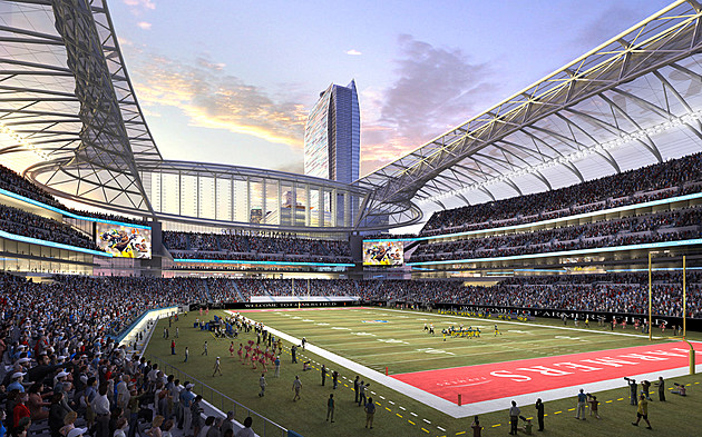 Rams Chargers Hold First Meeting On Sharing La Area Stadium