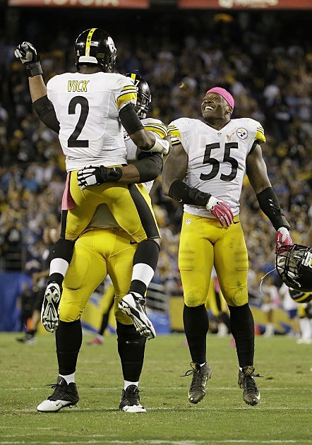 Bell S 1 Yard Td Run At Buzzer Lifts Steelers Over Chargers