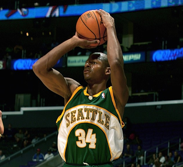 Seattle SuperSonics at LA Clippers